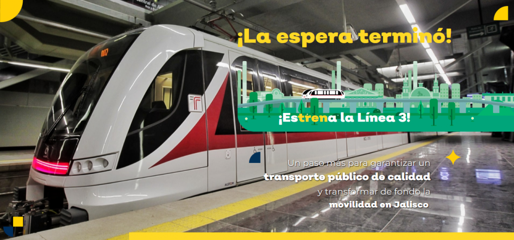 Linea Tres del Tren Ligero - IMAC Ingles Total
